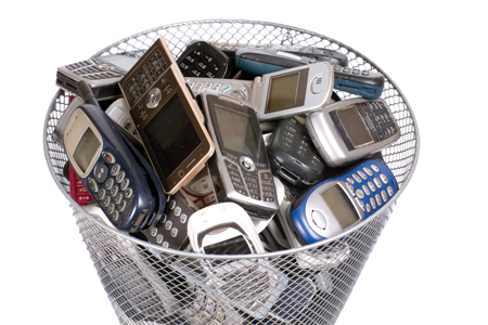 We know your old electronics can pile up.  This year, make a commitment to recycle them.