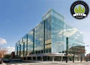 An example of a LEED certified building, approved by the USGBC